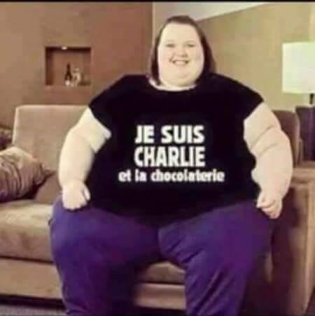 je suis Charlie et la chocolaterie
