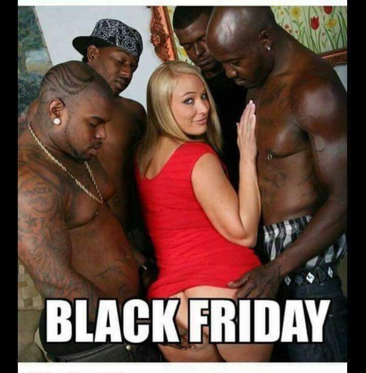 Black Friday gang bang